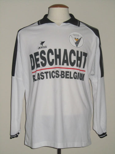 KSC Lokeren 2000-01 Home shirt MATCH ISSUE/WORN #9