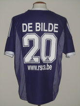 Load image into Gallery viewer, RSC Anderlecht 2002-03 Away shirt #20 Gilles De Bilde