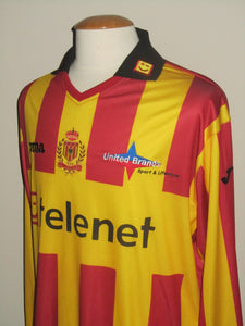 KV Mechelen 2011-12 MATCH ISSUE/WORN #13 Tom Pietermaat