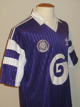 Load image into Gallery viewer, RSC Anderlecht 1989-92 Home shirt L