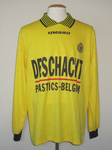 KSC Lokeren 1997-99 Home shirt MATCH ISSUE/WORN #11