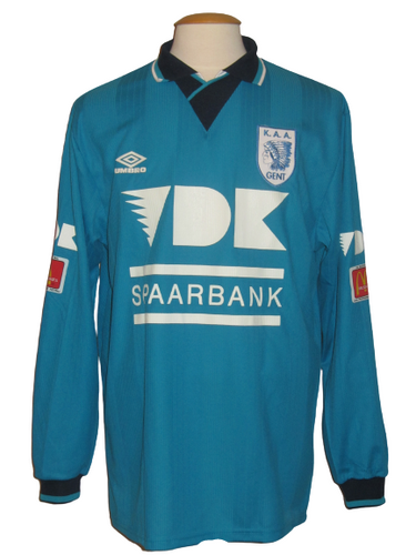 KAA Gent 1996-97 Home shirt XL