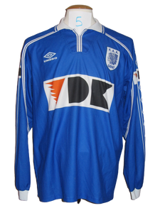 KAA Gent 1999-00 Home shirt PLAYER ISSUE #5