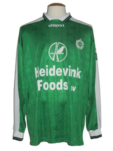 KFC Lommel SK 2001-02 home shirt MATCH ISSUE/WORN #13