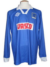 Load image into Gallery viewer, KRC Genk 1998-99 Home shirt MATCH ISSUE/WORN UEFA Cup #11 Branko Strupar