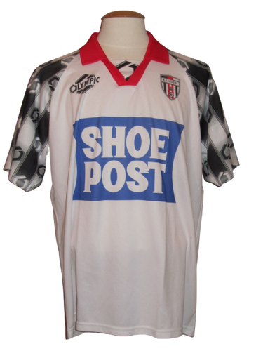 KTH Diest 1997-98 Home shirt MATCH WORN # 2