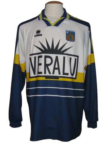 KVC Westerlo 1998-99 Home shirt MATCH WORN #3