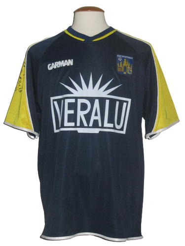 KVC Westerlo 2003-04 Home shirt MATCH ISSUE/WORN #21