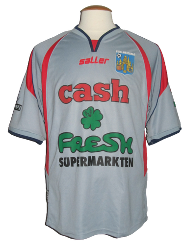 KVC Westerlo 2005-06 Away shirt MATCH ISSUE/WORN #9 Peter Utaka