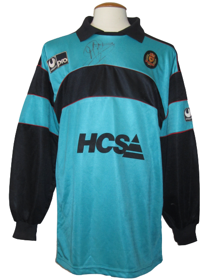 KV Mechelen 1990-91 Keeper shirt MATCH WORN UEFA Cup #1 Michel Preud'homme vs Sporting Lissabon