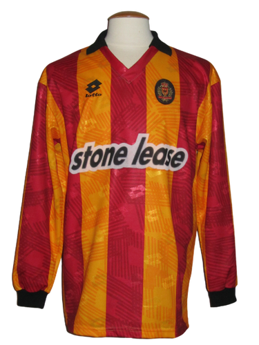 KV Mechelen 1992-93 Home shirt MATCH WORN UEFA Cup #5 Geert Deferm