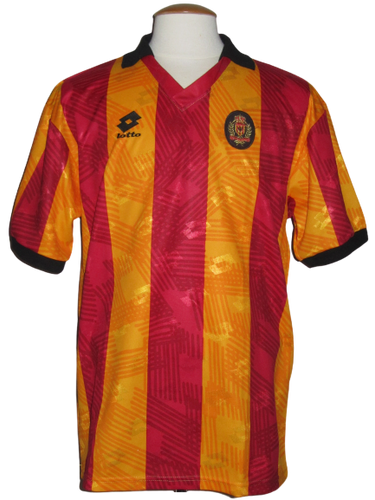 KV Mechelen 1992-93 Home shirt MATCH WORN #11