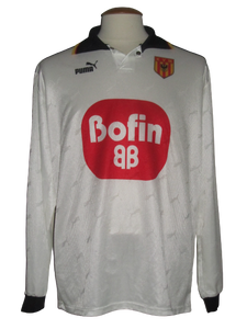 KV Mechelen 1999-00 Away shirt MATCH ISSUE/WORN #19 Tom Peeters