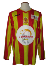 Load image into Gallery viewer, KV Mechelen 2010-11 Better World shirt MATCH PREPARED #24 Abdul-Ganiyu Iddi vs KV Kortrijk