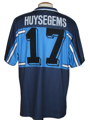 Lierse SK 2000-01 Away shirt MATCH ISSUE UEFA Cup #17 Stein Huysegems vs Ekranas