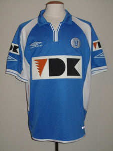 KAA Gent 2002-03 Home shirt MATCH WORN #25