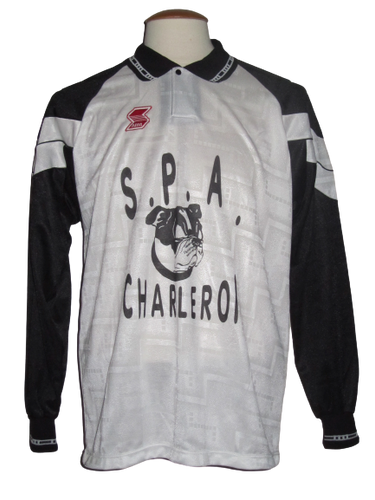 Olympic de Charleroi Home shirt 90's #9