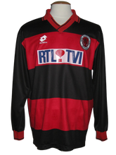 Load image into Gallery viewer, RFC Seraing 1994-95 Home shirt MATCH WORN vs Dinamo Moskou #5 Marc Schaessens
