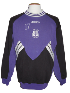 RSC Anderlecht 1996-97 Sweatshirt player issue #17