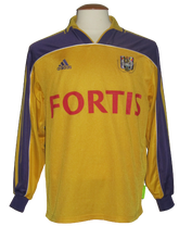 Load image into Gallery viewer, RSC Anderlecht 2000-01 Away shirt MATCH ISSUE/WORN Youth #14