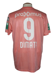 RSC Anderlecht 2018-19 Away shirt MATCH ISSUE/WORN #9 Landry Dimata