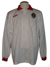Load image into Gallery viewer, Rode Duivels 1992-1993 Away shirt MATCH WORN/ISSUE #15