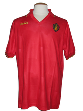 Load image into Gallery viewer, Rode Duivels 1992-93 home shirt MATCH WORN #14 Luis Oliveira vs Romania