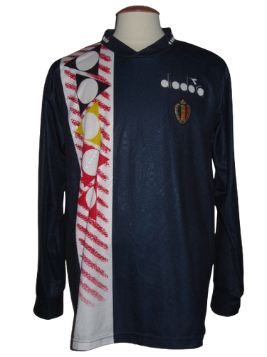Rode Duivels 1994-1995 Training shirt L/S