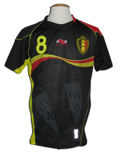 Load image into Gallery viewer, Rode Duivels 2014 Qualifiers WK Zwart shirt #8 Marouane Fellaini