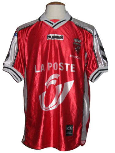 Royal Excel Mouscron 2000-01 Home shirt MATCH WORN #20
