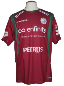 SV Zulte Waregem 2010-11 Home shirt MATCH WORN # 7 Habib Habibou