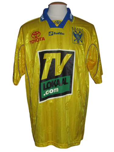 Sint-Truiden VV 2000-01 Home shirt MATCH ISSUE/WORN #12