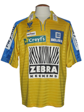 Load image into Gallery viewer, Sint-Truiden VV 2004-05 Home shirt MATCH ISSUE/WORN #25 Matthieu Beda