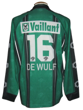 Load image into Gallery viewer, Cercle Brugge 2003-04 Home shirt MATCH WORN #16 Jimmy De Wulf