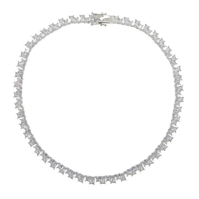 Diamante Tennis Necklace