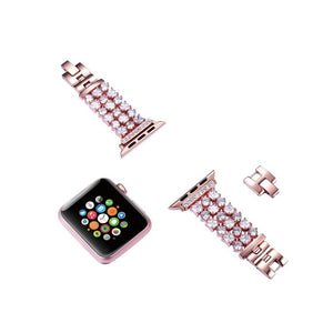 Luxury Crystal Bling Rhinestone Diamond Band for Apple Watch