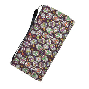 Sugar Skull Women's Wallet w/ RFID Blocker