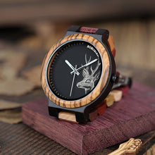Deer Collection Wood Watches