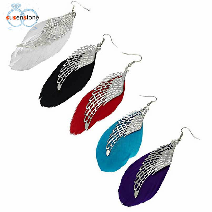 Angel Wing Drop Earring