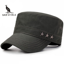 Spring Fitted Army Baseball Cap