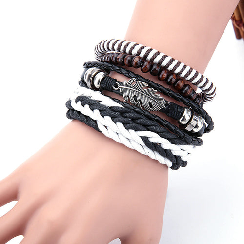 Multi-layer Handmade Bracelets