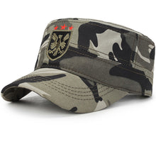 Spring Cotton Snapback Baseball Cap (Eagle)