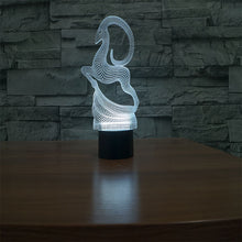 Antelope 3D Illusion LED Night Light with 7 Colors