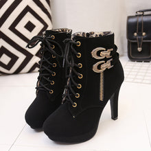 Sexy High Heels Platform Ankle Boots