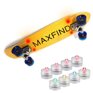 MaxFind Candle Lights for Skateboards Deluxe