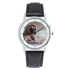 Double Layer Concise Dial - Quartz Watch