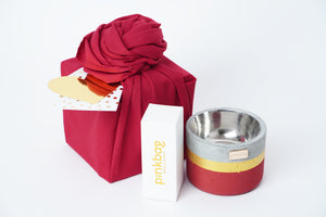 maroon small gift set