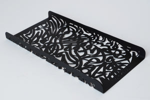 HARF Steel tray |Black