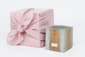 4D wood|concrete GIFT | pink