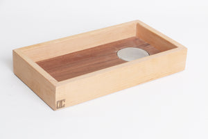 COIN004  wood tray